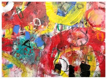 "acrylic on canvasboard   12"" x 16""   $250"