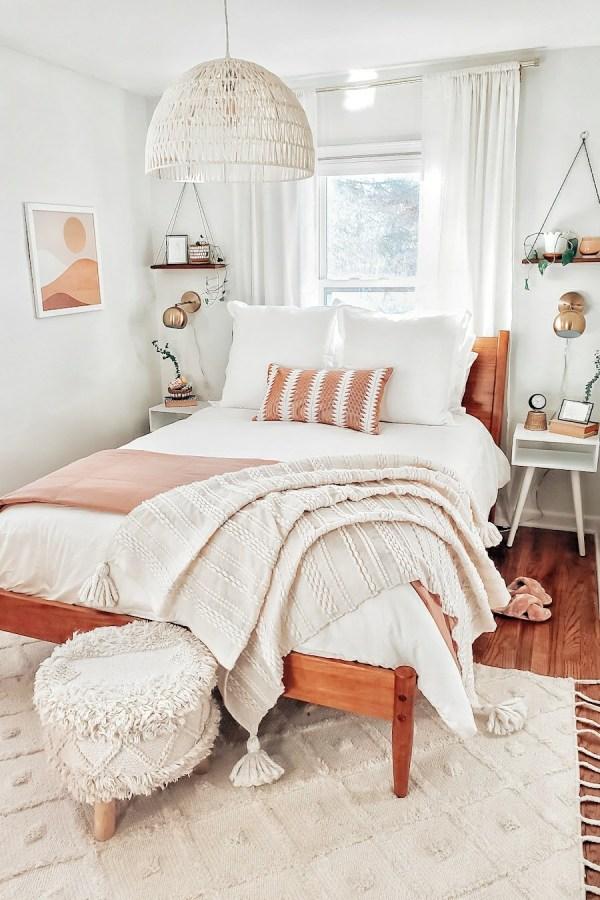 Mid-century hygge bedroom
