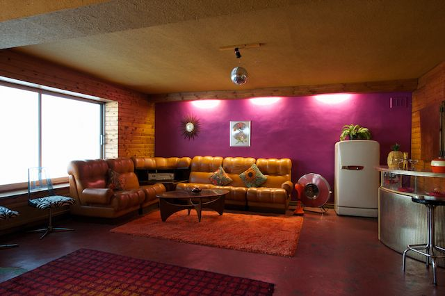 retro sofas london sofa bed that converts to bunk beds gillian and richard's 1970s pad « emily wheeler