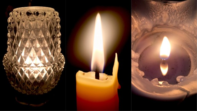 Blackout and Candles: A Dark Night Experiment