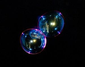 Night Bubble Print Shop