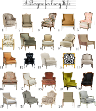 bergere chair | The Anatomy of Design