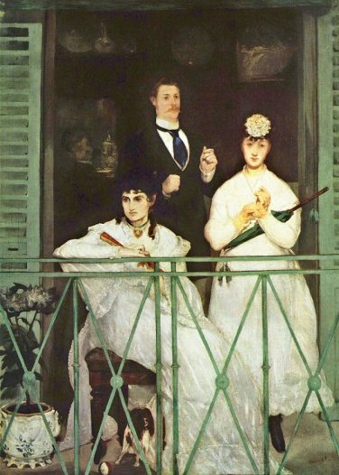The Balcony, Edouard Manet, 1868