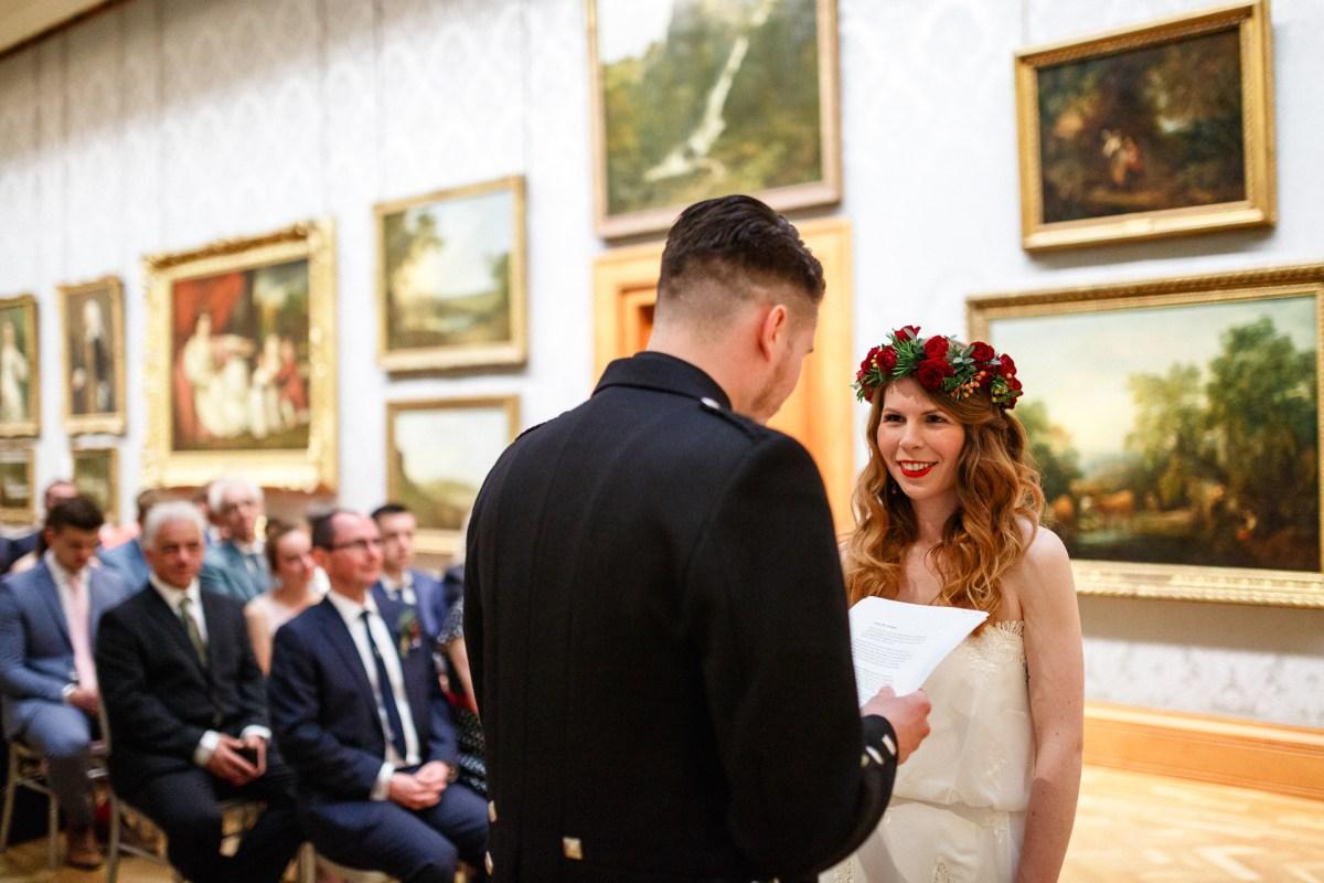 Cardiff Museum Wedding Photography