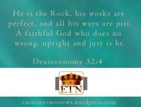Deuteronomy 32-4