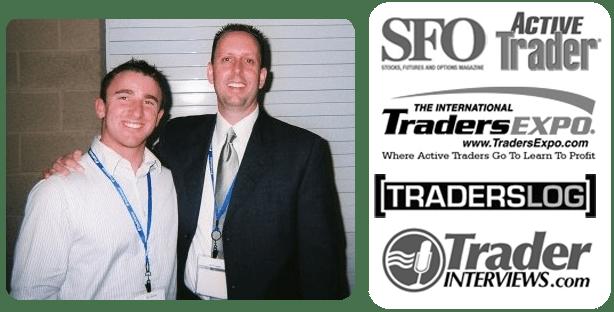 Tim Bourquin & Tim Racette LA Traders Expo 2009