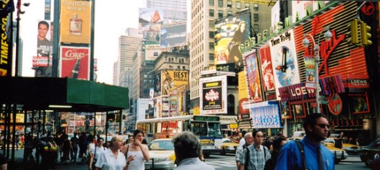 Tim Square New York
