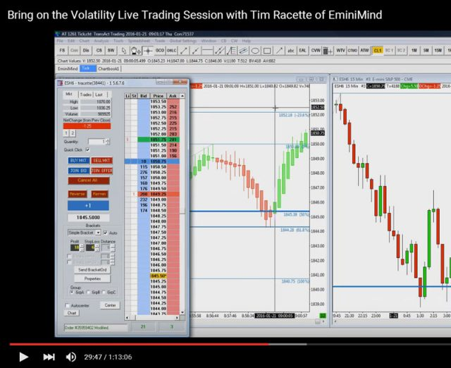 Live Trading Session Jan 21 w/ Infinity Futures