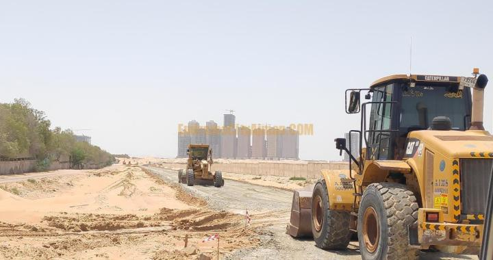 New Roads Construction in Al-Helio, Al Aamra & Emirates City Ajman