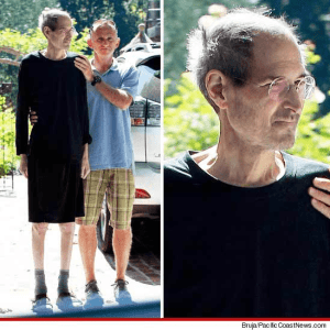 steve jobs post resignation latest picture