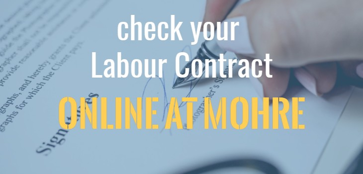 How to check your Labour Contract Online on www.mol.gov.ae? (2017 version)
