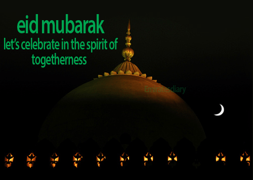 Eid Mubarak from Emirates Diary-Wishes on Eid
