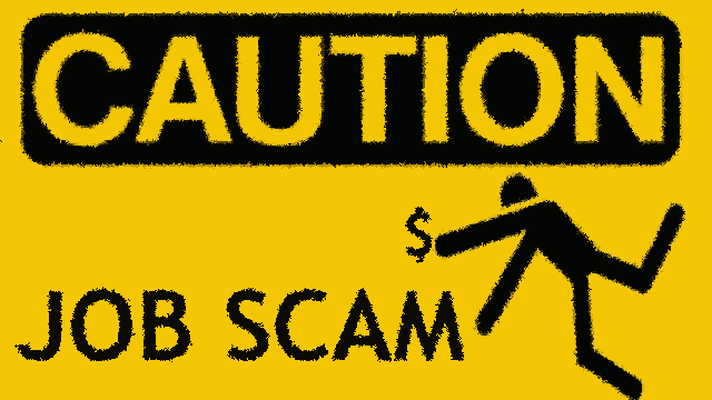 9 ways to spot a JOB SCAM?