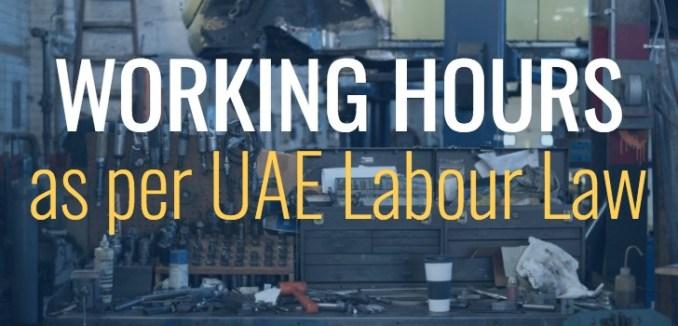 uae labour law work hours