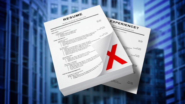 3 Reasons why your Resume was trashed?