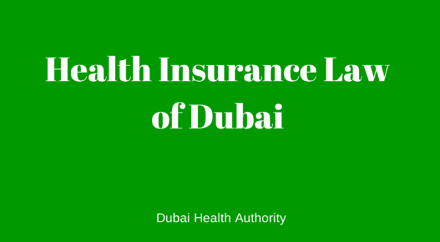 Health Insurance Law dubai 2014