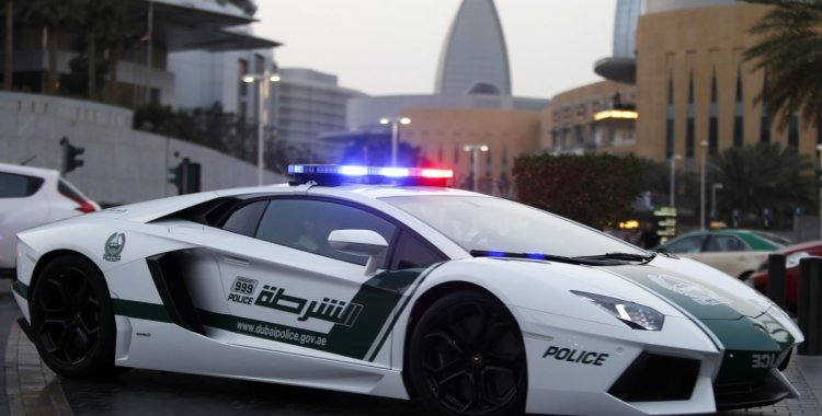 Dubai Police has some of the best fleet of Super Cars!