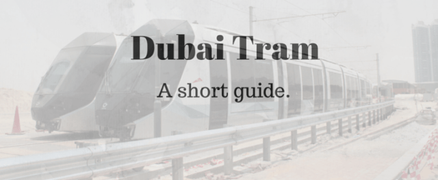 Dubai Tram background picture