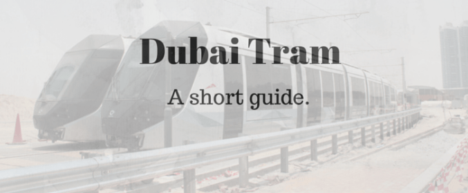 Dubai Tram background picture