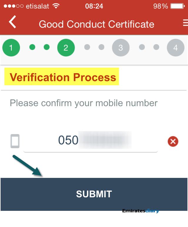 dubai police clearance certificate pcc certificate of good conduct