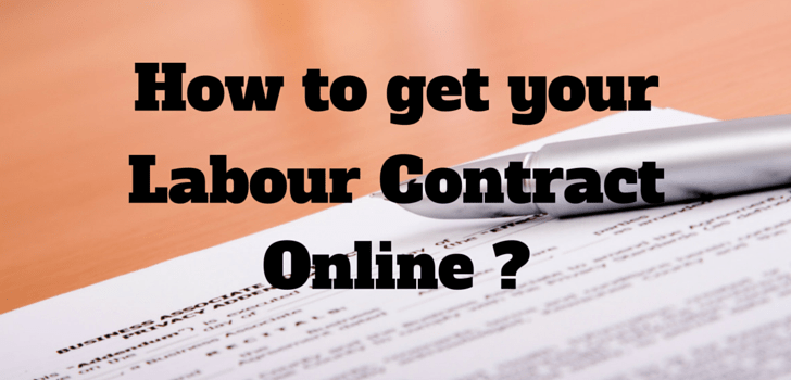 How to get your Labour Contract copy through MOL website? (updated video tutorial)