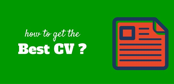 How can a great CV get you a job?