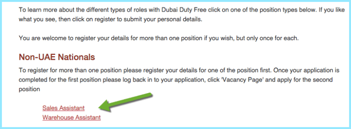 duty free jobs dubai