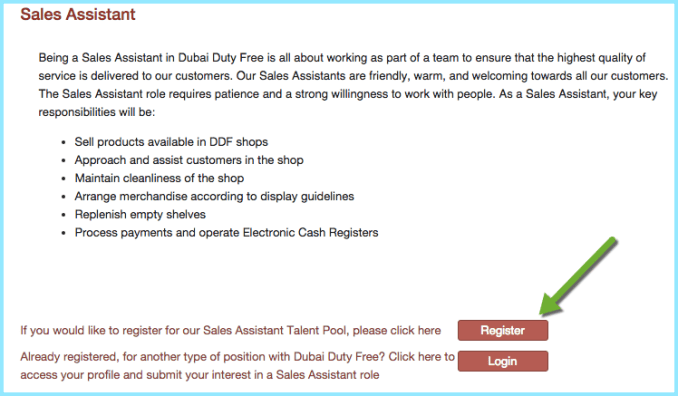 duty free dubai jobs