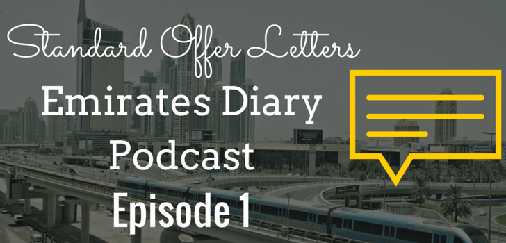 EDP001: Standard Offer Letters as per UAE Labour Law (Podcast)