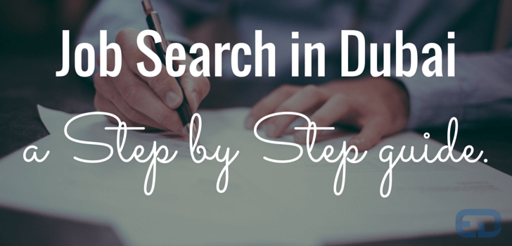 how to find jobs in dubai