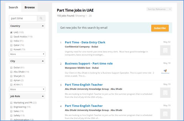 part time jobs bayt