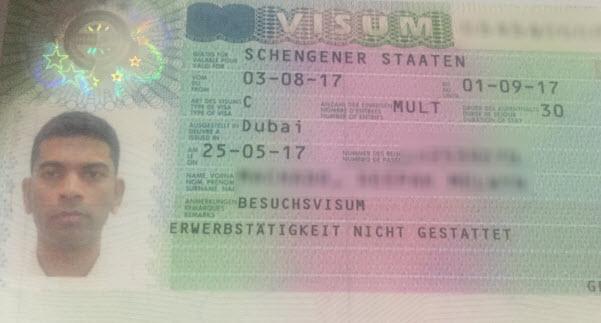 schengen visa 3