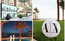 The Event | Armani Exchange Throws A Pool Party on The Palm