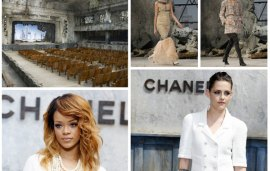 HAUTE COUTURE WEEK A/W13-14 | CHANEL: THE FROW AND THE SHOW