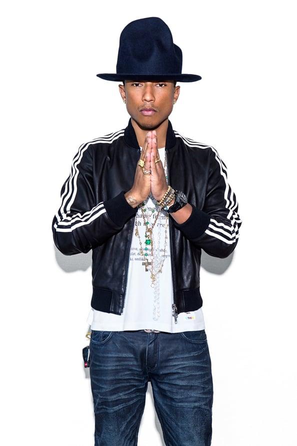 Pharrell Williams Collaborates With Adidas Originals – Emirates Woman 1fc53354c696