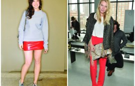 Celebrity Style Trend | Red Alert