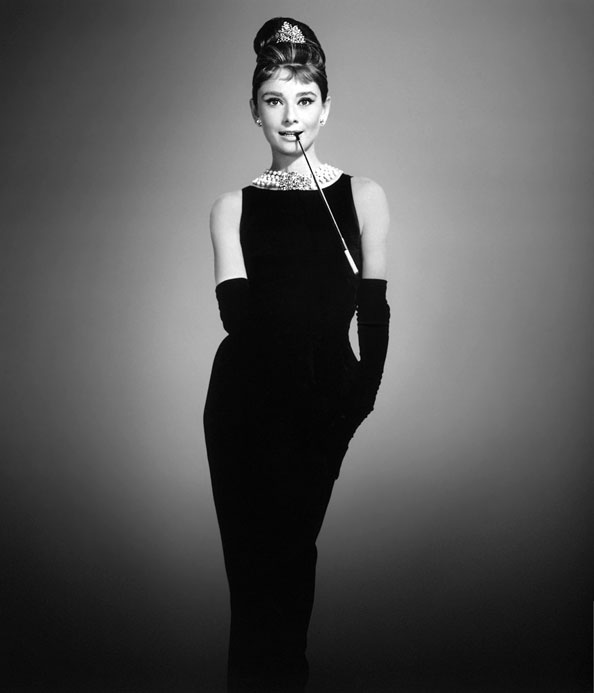 Audrey's most iconic role as Holly Golightly. This image encapsulates the power of a LBD