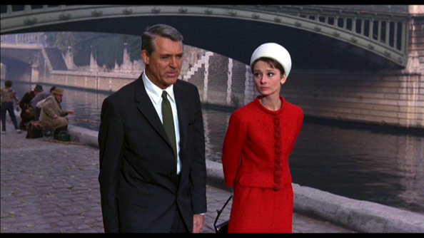With Carey Grant in Charade