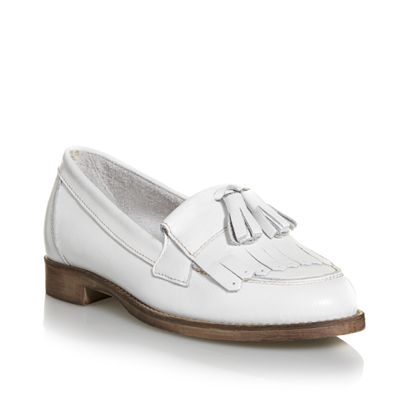 Leather loafer Dhs463 Dune