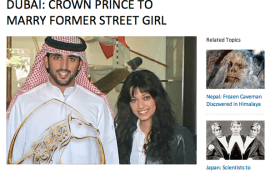 Fake Article About Crown Prince's Engagement Goes Viral
