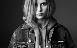 Lottie, Sister Of Kate Moss, Stars In Calvin Klein Campaign