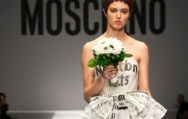 The Showstopping Moschino Wedding Dress