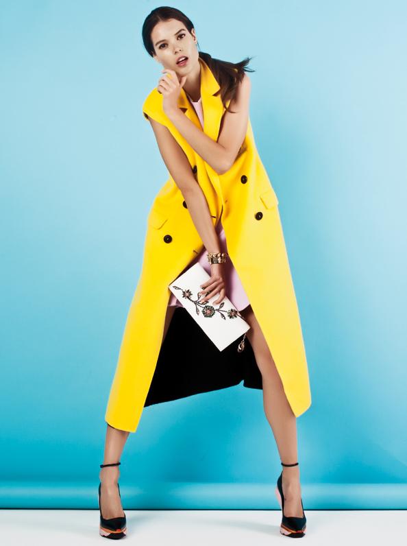 Dior Autumn Winter 2014 Fashion Shoot Fall Into Colour Emirates