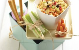 Food For Kids | Couscous Salad By Annabel Karmel
