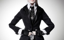 Net-a-porter.com Launch Karl Lagerfeld Barbie