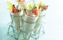 Food For Kids | Chicken Wrap By Annabel Karmel