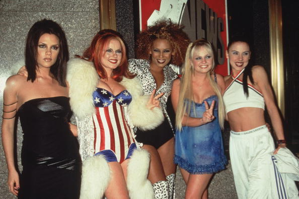 The Spice Girls Victoria Beckham
