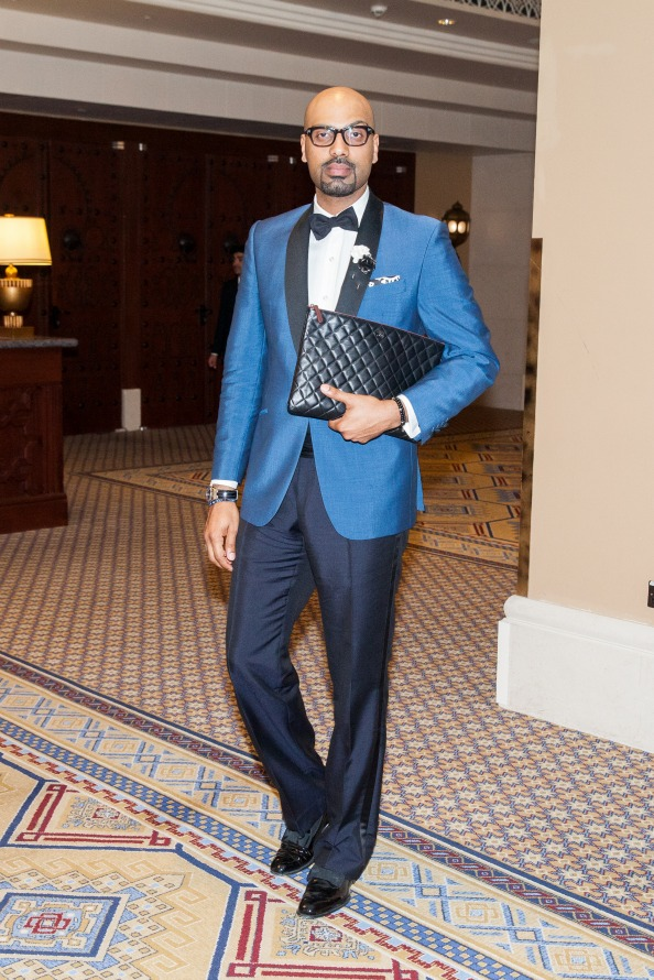 Musaed Al Mutiri at Harvey Nichols spring summer 2015