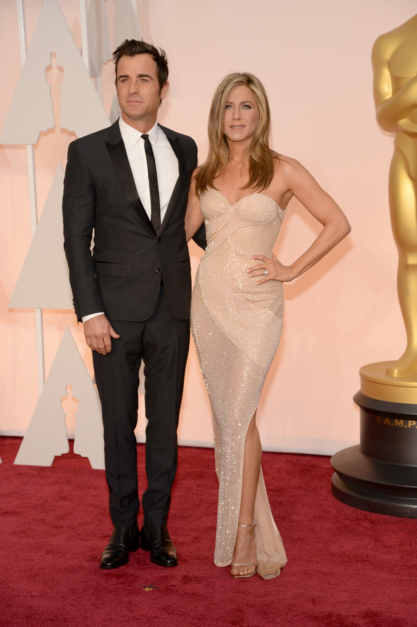 Jennifer Aniston, OSCARS, VERSACE