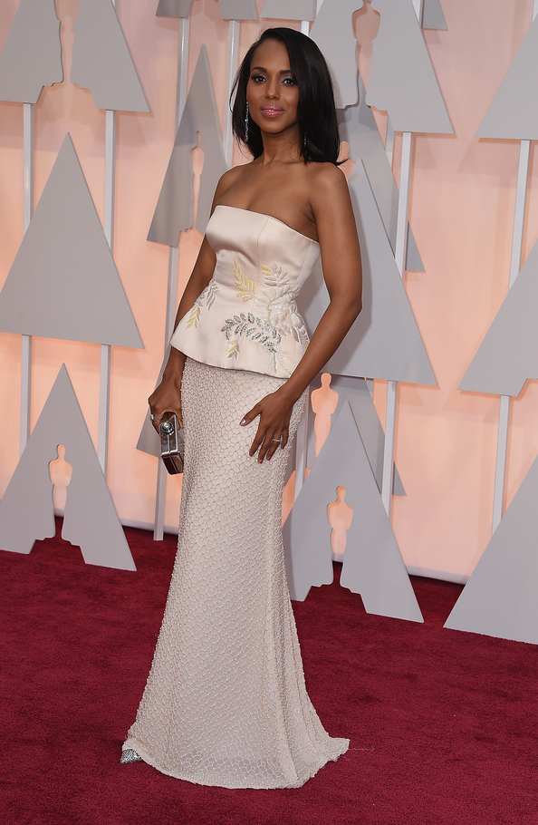 Kerry Washington in Miu Miu at the Oscars